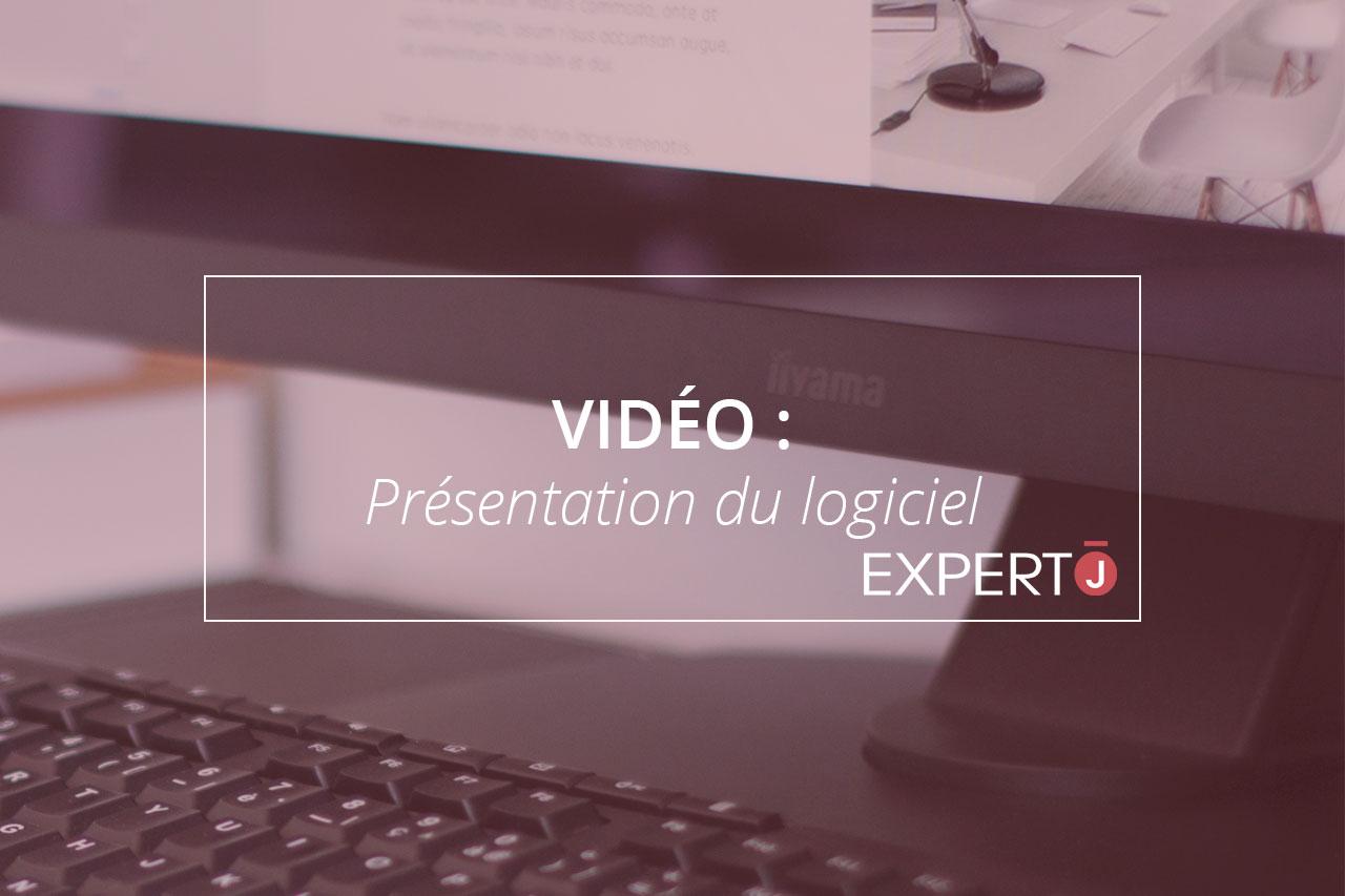 Expert.j Image à la Une Article Vidéo : Présentation du logiciel